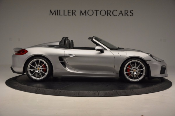 Used 2016 Porsche Boxster Spyder for sale Sold at Bentley Greenwich in Greenwich CT 06830 9