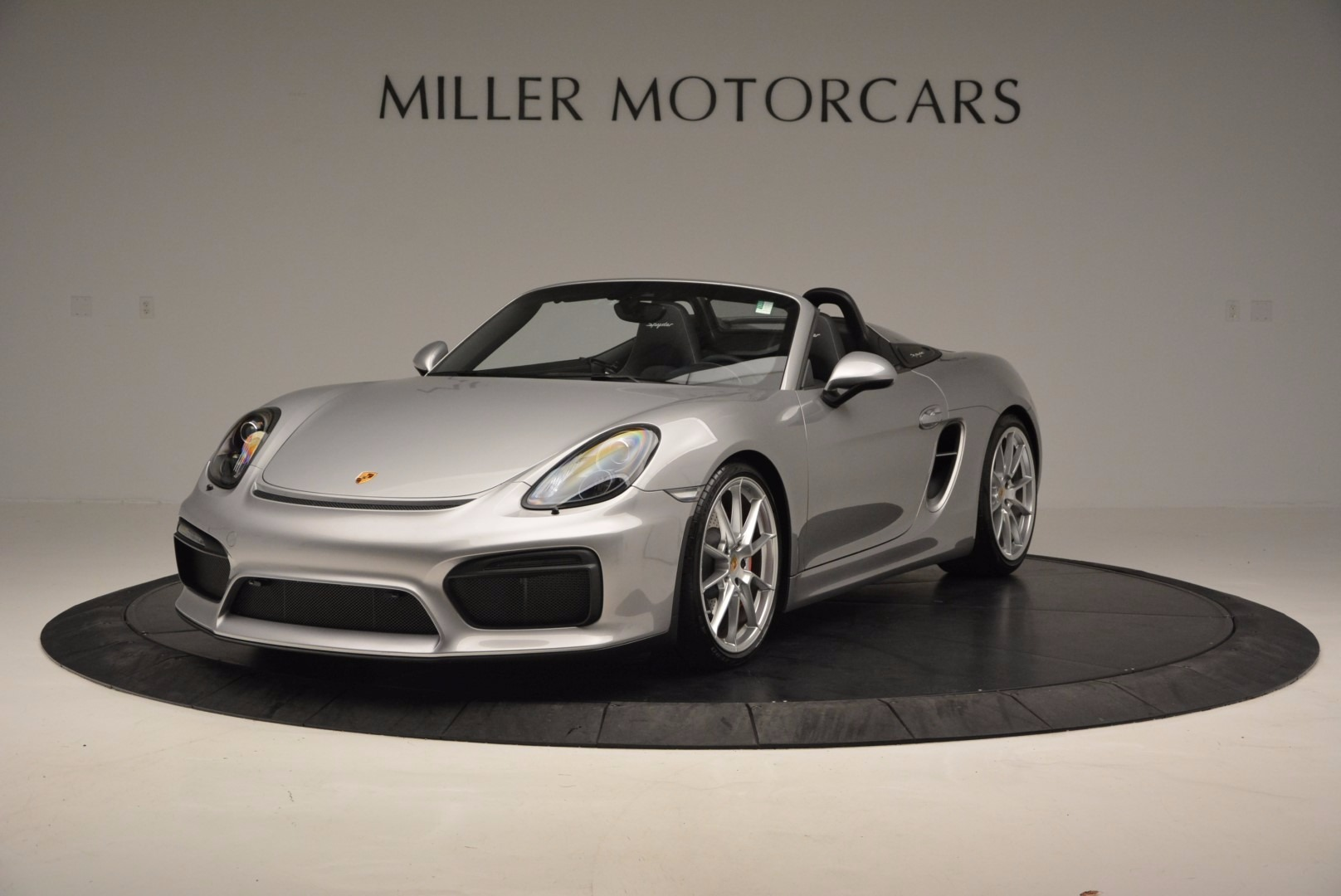 Used 2016 Porsche Boxster Spyder for sale Sold at Bentley Greenwich in Greenwich CT 06830 1