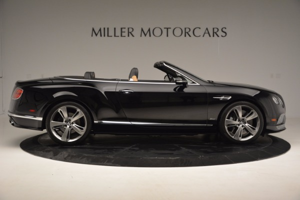 Used 2016 Bentley Continental GT Speed Convertible for sale Sold at Bentley Greenwich in Greenwich CT 06830 9