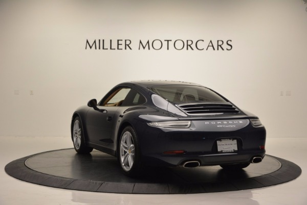 Used 2014 Porsche 911 Carrera for sale Sold at Bentley Greenwich in Greenwich CT 06830 5
