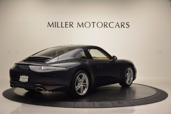 Used 2014 Porsche 911 Carrera for sale Sold at Bentley Greenwich in Greenwich CT 06830 7