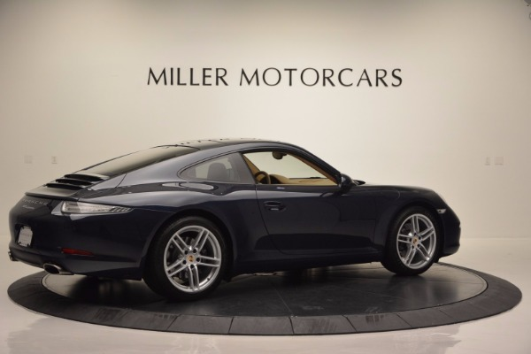 Used 2014 Porsche 911 Carrera for sale Sold at Bentley Greenwich in Greenwich CT 06830 8