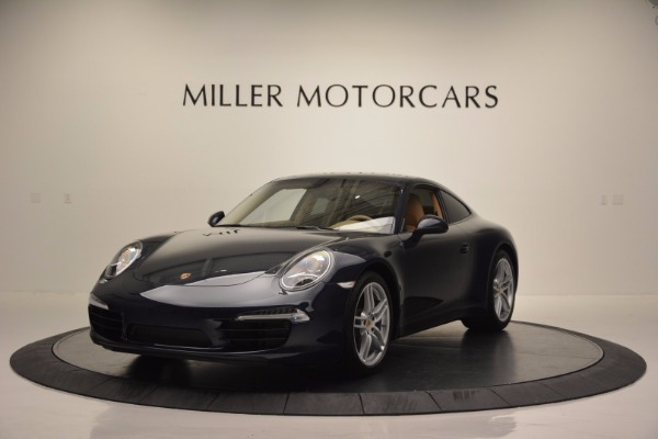 Used 2014 Porsche 911 Carrera for sale Sold at Bentley Greenwich in Greenwich CT 06830 1