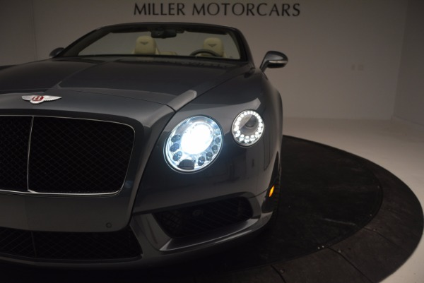 Used 2014 Bentley Continental GT V8 for sale Sold at Bentley Greenwich in Greenwich CT 06830 28