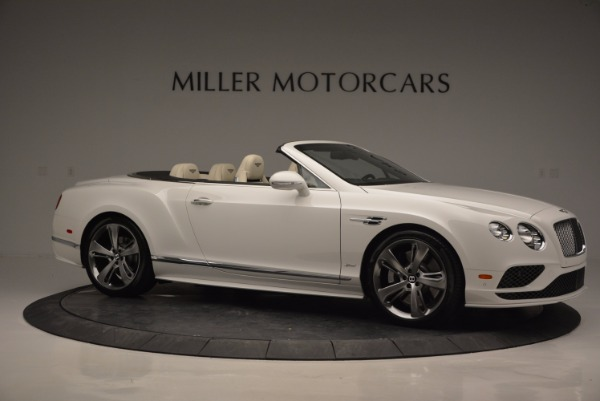 New 2017 Bentley Continental GT Speed Convertible for sale Sold at Bentley Greenwich in Greenwich CT 06830 10