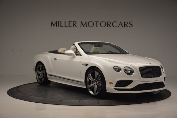 New 2017 Bentley Continental GT Speed Convertible for sale Sold at Bentley Greenwich in Greenwich CT 06830 11