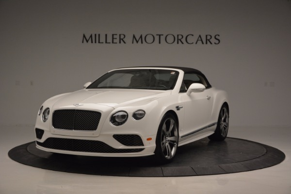 New 2017 Bentley Continental GT Speed Convertible for sale Sold at Bentley Greenwich in Greenwich CT 06830 13