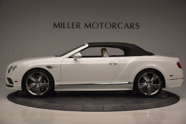 New 2017 Bentley Continental GT Speed Convertible for sale Sold at Bentley Greenwich in Greenwich CT 06830 15