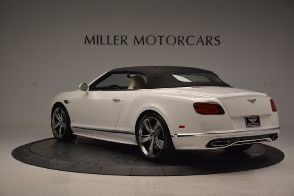 New 2017 Bentley Continental GT Speed Convertible for sale Sold at Bentley Greenwich in Greenwich CT 06830 17