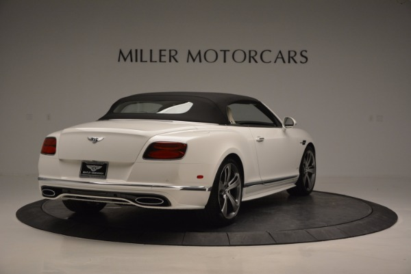 New 2017 Bentley Continental GT Speed Convertible for sale Sold at Bentley Greenwich in Greenwich CT 06830 19