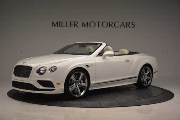 New 2017 Bentley Continental GT Speed Convertible for sale Sold at Bentley Greenwich in Greenwich CT 06830 2