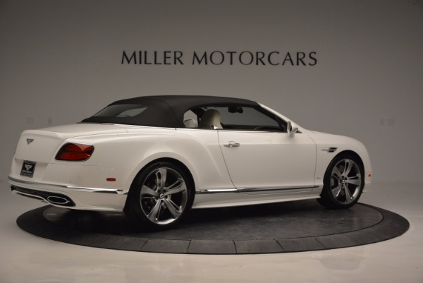 New 2017 Bentley Continental GT Speed Convertible for sale Sold at Bentley Greenwich in Greenwich CT 06830 20