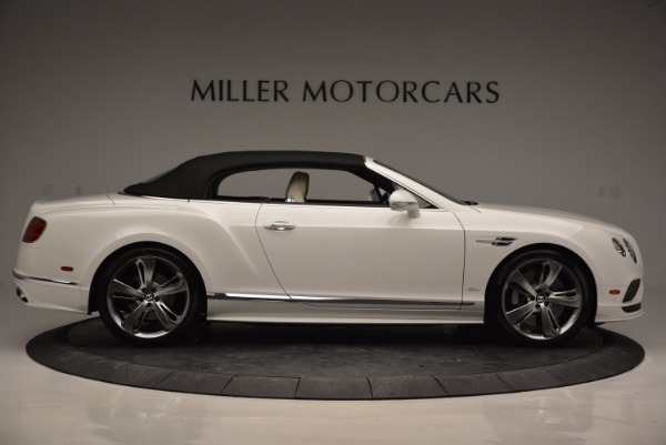 New 2017 Bentley Continental GT Speed Convertible for sale Sold at Bentley Greenwich in Greenwich CT 06830 21