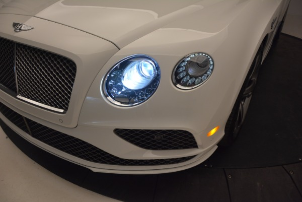 New 2017 Bentley Continental GT Speed Convertible for sale Sold at Bentley Greenwich in Greenwich CT 06830 28