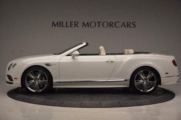 New 2017 Bentley Continental GT Speed Convertible for sale Sold at Bentley Greenwich in Greenwich CT 06830 3