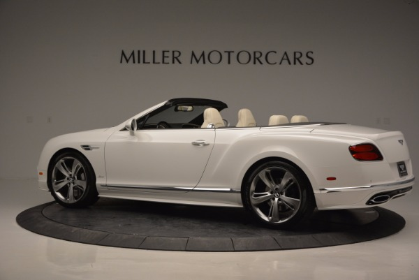 New 2017 Bentley Continental GT Speed Convertible for sale Sold at Bentley Greenwich in Greenwich CT 06830 4