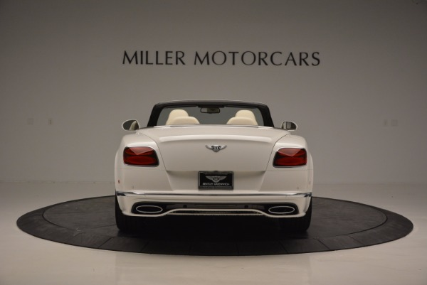 New 2017 Bentley Continental GT Speed Convertible for sale Sold at Bentley Greenwich in Greenwich CT 06830 6