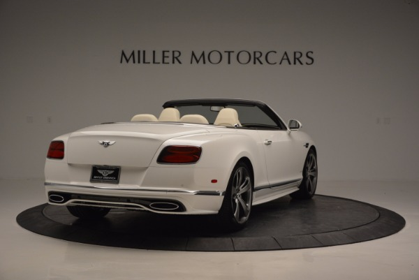 New 2017 Bentley Continental GT Speed Convertible for sale Sold at Bentley Greenwich in Greenwich CT 06830 7