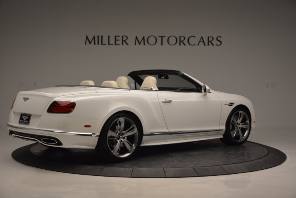 New 2017 Bentley Continental GT Speed Convertible for sale Sold at Bentley Greenwich in Greenwich CT 06830 8