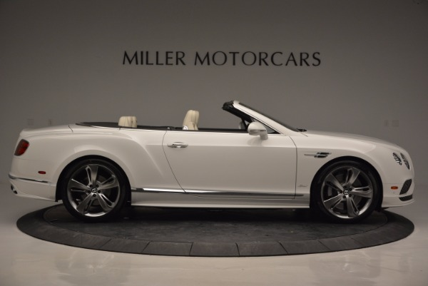 New 2017 Bentley Continental GT Speed Convertible for sale Sold at Bentley Greenwich in Greenwich CT 06830 9