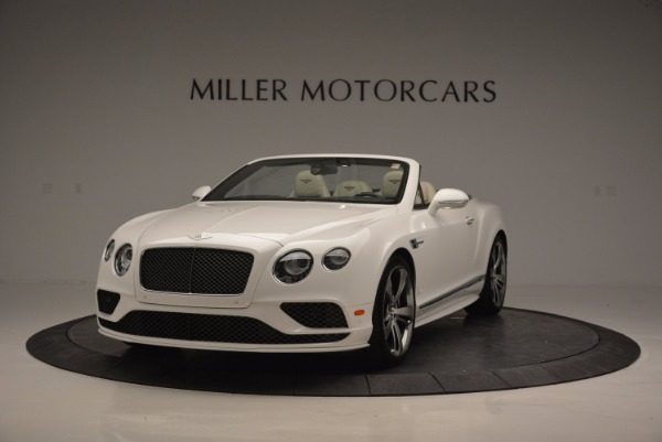New 2017 Bentley Continental GT Speed Convertible for sale Sold at Bentley Greenwich in Greenwich CT 06830 1