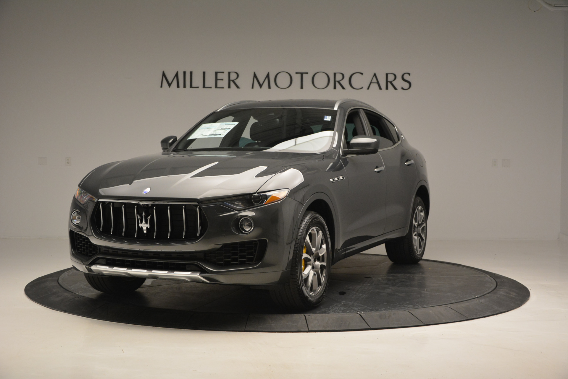 Used 2017 Maserati Levante S Ex Service Loaner for sale Sold at Bentley Greenwich in Greenwich CT 06830 1