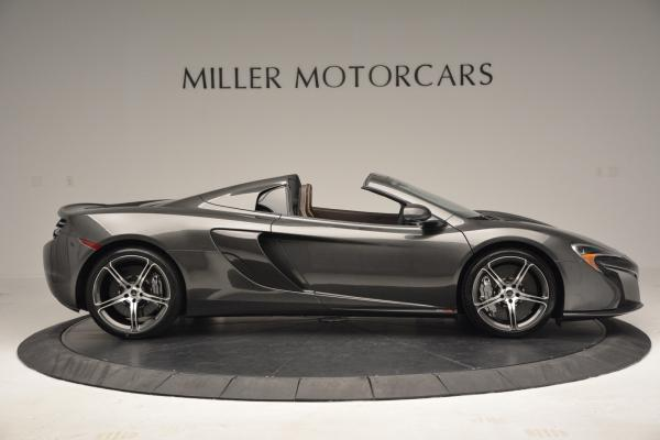 Used 2016 McLaren 650S SPIDER Convertible for sale Sold at Bentley Greenwich in Greenwich CT 06830 9
