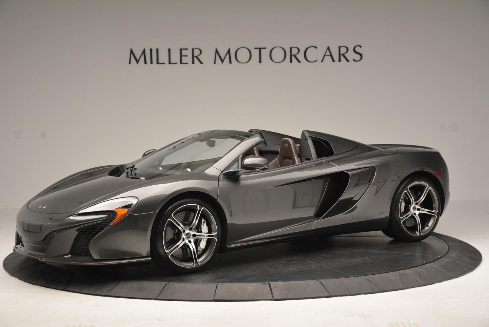 Used 2016 McLaren 650S SPIDER Convertible for sale Sold at Bentley Greenwich in Greenwich CT 06830 1