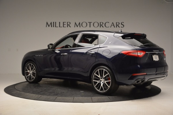 New 2017 Maserati Levante S Q4 for sale Sold at Bentley Greenwich in Greenwich CT 06830 3