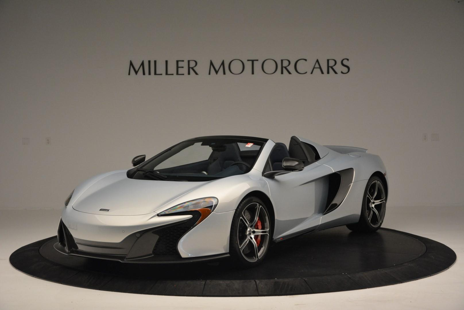 New 2016 McLaren 650S Spider for sale Sold at Bentley Greenwich in Greenwich CT 06830 1