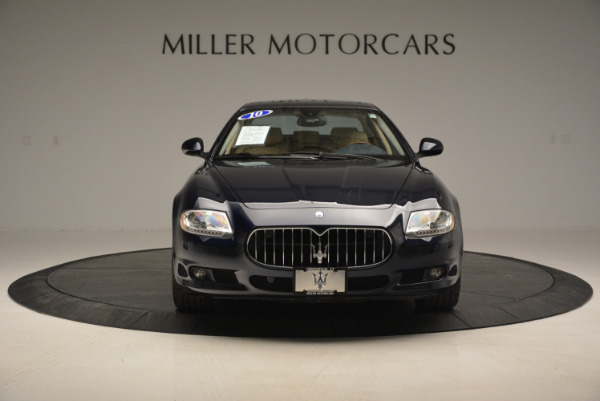Used 2010 Maserati Quattroporte S for sale Sold at Bentley Greenwich in Greenwich CT 06830 12