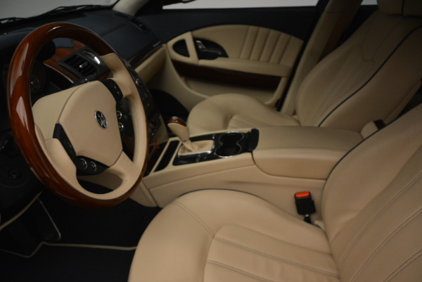 Used 2010 Maserati Quattroporte S for sale Sold at Bentley Greenwich in Greenwich CT 06830 14
