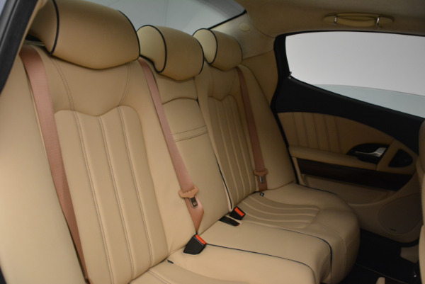 Used 2010 Maserati Quattroporte S for sale Sold at Bentley Greenwich in Greenwich CT 06830 20