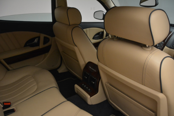 Used 2010 Maserati Quattroporte S for sale Sold at Bentley Greenwich in Greenwich CT 06830 22