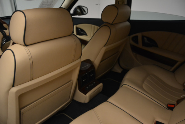 Used 2010 Maserati Quattroporte S for sale Sold at Bentley Greenwich in Greenwich CT 06830 25