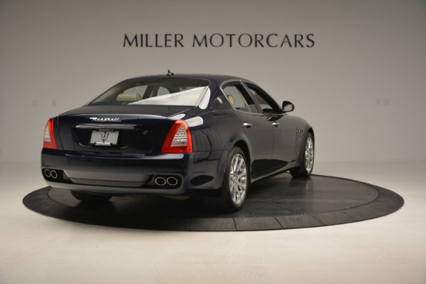 Used 2010 Maserati Quattroporte S for sale Sold at Bentley Greenwich in Greenwich CT 06830 7