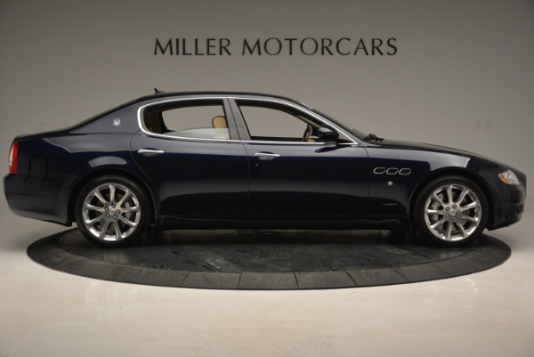 Used 2010 Maserati Quattroporte S for sale Sold at Bentley Greenwich in Greenwich CT 06830 9