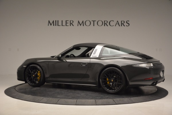 Used 2016 Porsche 911 Targa 4 GTS for sale Sold at Bentley Greenwich in Greenwich CT 06830 15
