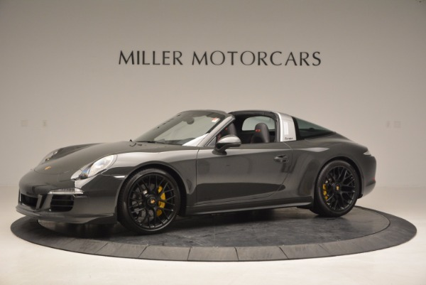 Used 2016 Porsche 911 Targa 4 GTS for sale Sold at Bentley Greenwich in Greenwich CT 06830 2