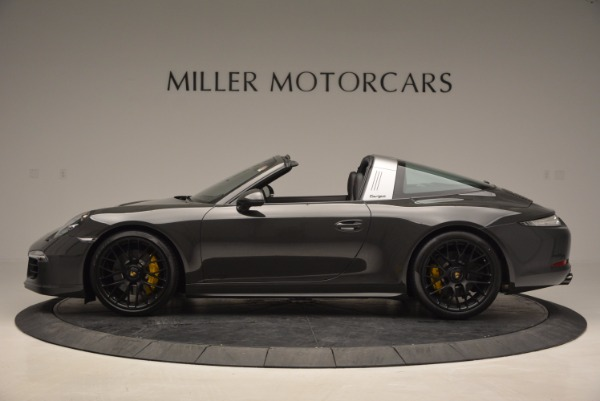 Used 2016 Porsche 911 Targa 4 GTS for sale Sold at Bentley Greenwich in Greenwich CT 06830 3