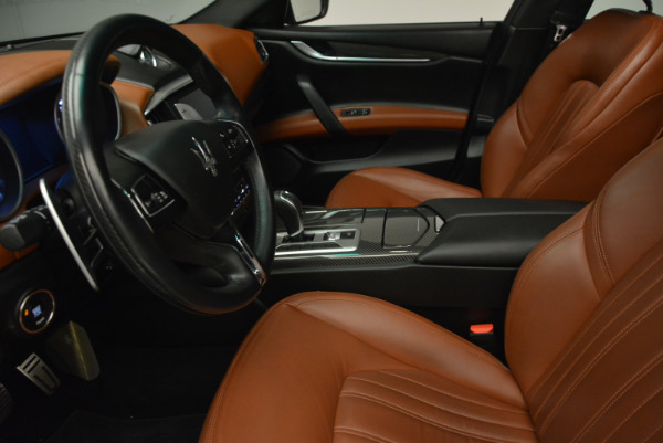 Used 2014 Maserati Ghibli S Q4 for sale Sold at Bentley Greenwich in Greenwich CT 06830 14