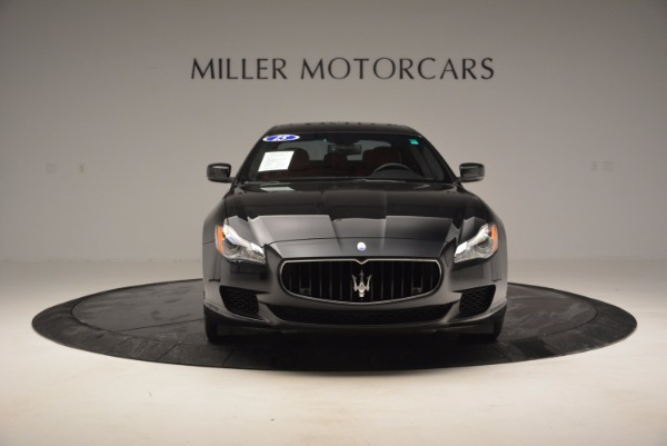 Used 2015 Maserati Quattroporte S Q4 for sale Sold at Bentley Greenwich in Greenwich CT 06830 12