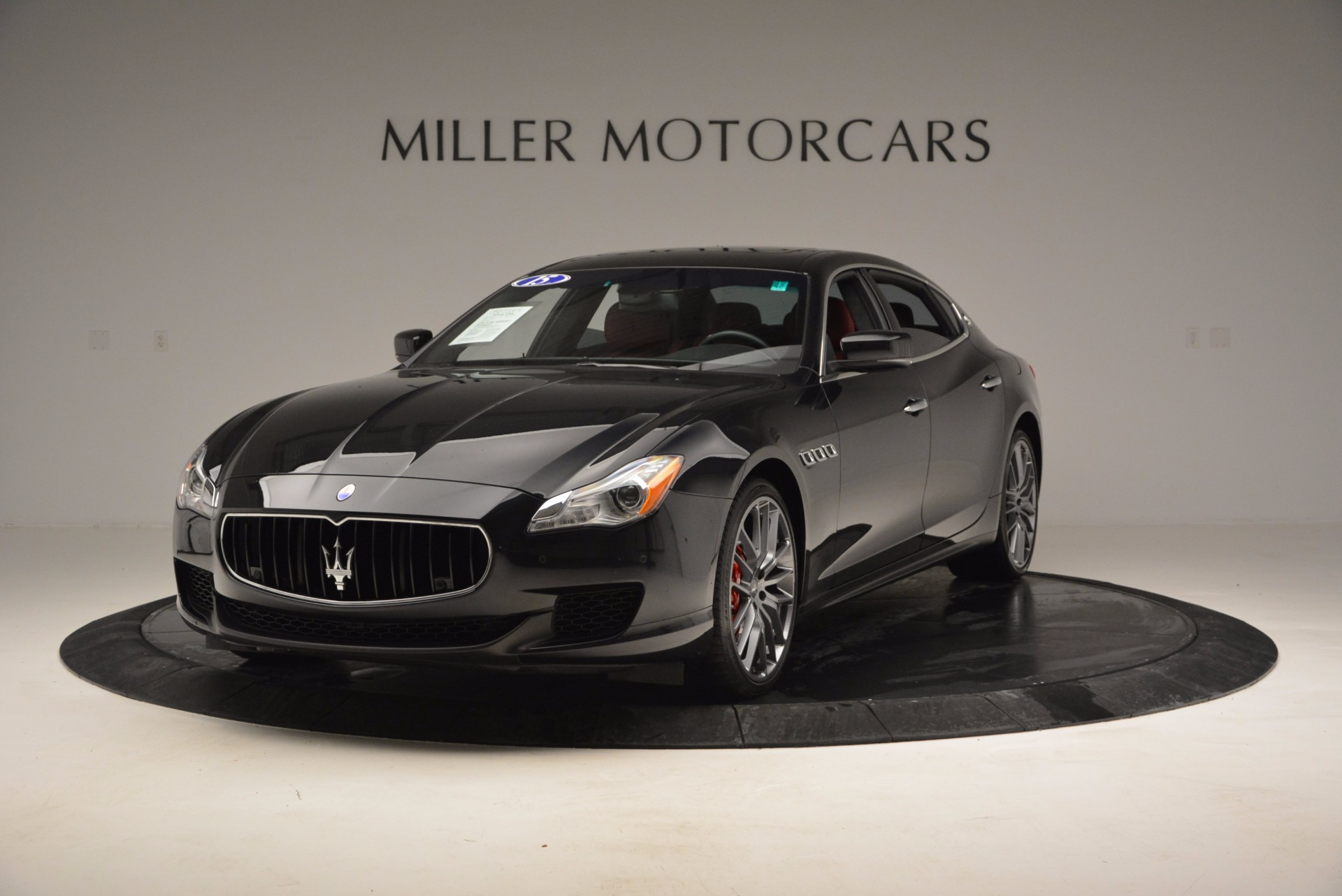 Used 2015 Maserati Quattroporte S Q4 for sale Sold at Bentley Greenwich in Greenwich CT 06830 1
