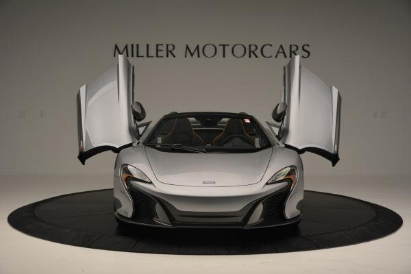 Used 2016 McLaren 650S SPIDER Convertible for sale Sold at Bentley Greenwich in Greenwich CT 06830 13