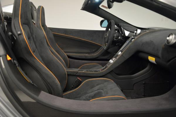 Used 2016 McLaren 650S SPIDER Convertible for sale Sold at Bentley Greenwich in Greenwich CT 06830 27