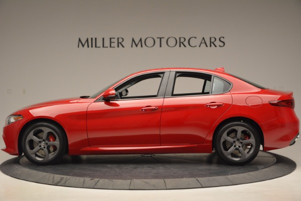 New 2017 Alfa Romeo Giulia for sale Sold at Bentley Greenwich in Greenwich CT 06830 3