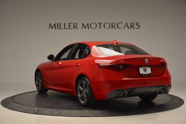 New 2017 Alfa Romeo Giulia for sale Sold at Bentley Greenwich in Greenwich CT 06830 5