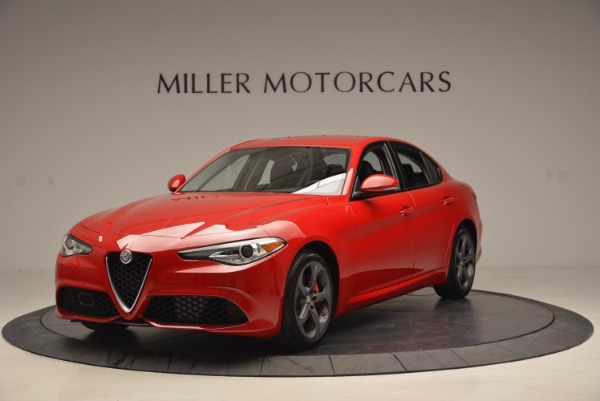 New 2017 Alfa Romeo Giulia for sale Sold at Bentley Greenwich in Greenwich CT 06830 1