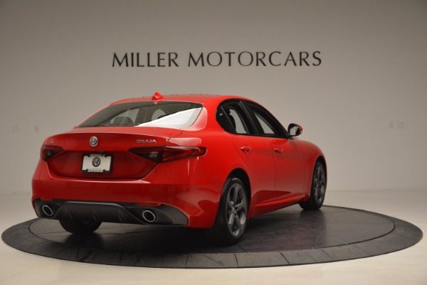 New 2017 Alfa Romeo Giulia Q4 for sale Sold at Bentley Greenwich in Greenwich CT 06830 7