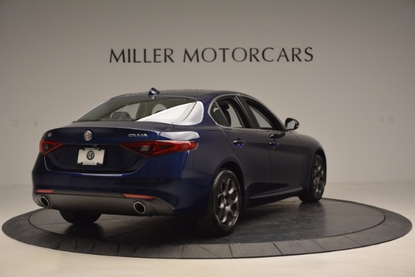 New 2017 Alfa Romeo Giulia for sale Sold at Bentley Greenwich in Greenwich CT 06830 7